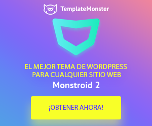 TemplateMonster plantilla wordpress